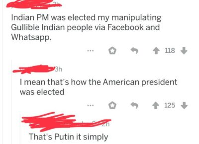 Putin it simply