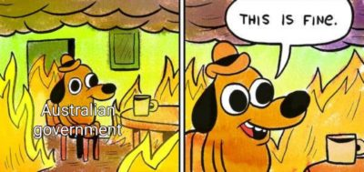 It's not fine