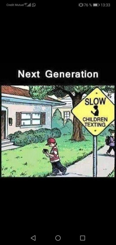 Children&phones Vs. Boomers