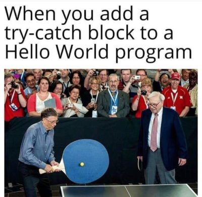 Try Catch