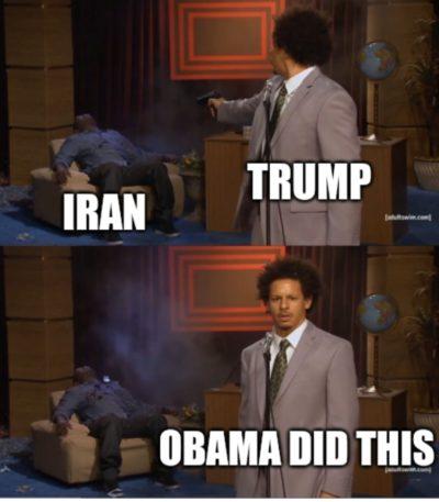 Trump's speech this morning in a nutshell