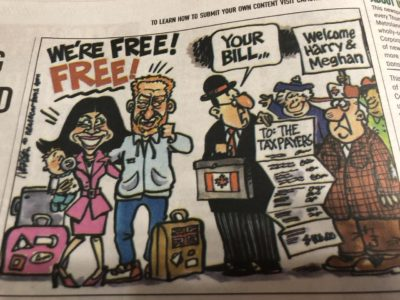 Classic boomers in the paper, all about the taxes!