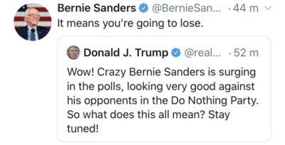 Damn, Bernie!
