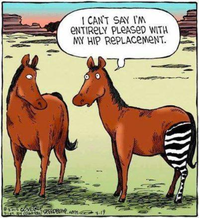 My hip!