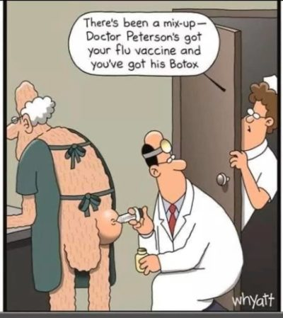 Mix up at the doctor