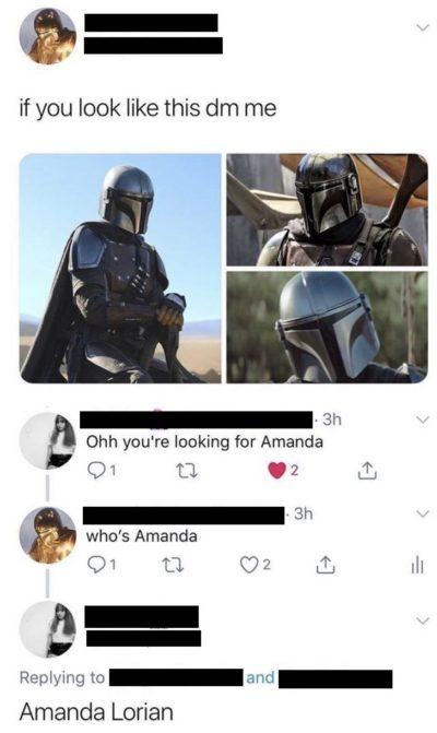 Looking for Amanda