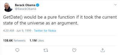 The Former US President Has Spoken