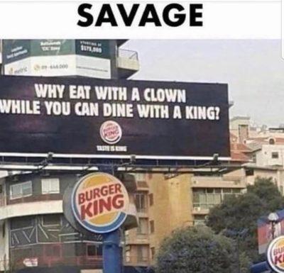 so savage haha
