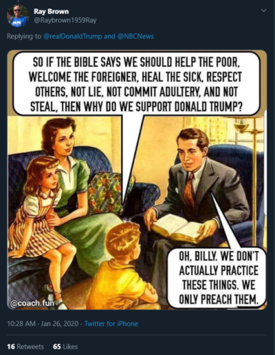 Billy makes a good point