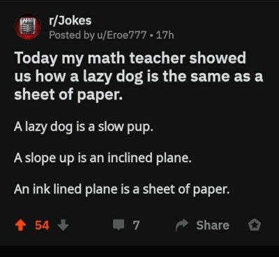 Punny math