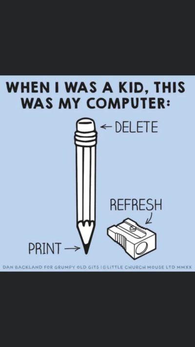 Damn millennials with their computers!