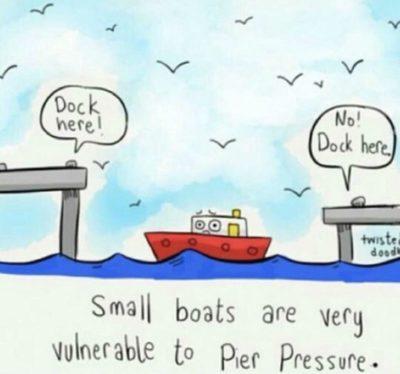 Pier pressure