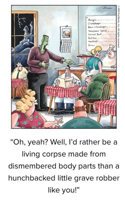 "Idk if this is ""boomer specific"" but I always though Far Side counted as half decent humor from a boomer"