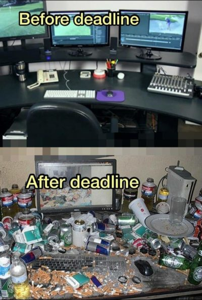 Deadline of projects