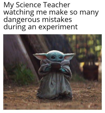 Yay science class