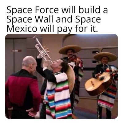 For all of you laughing at Space Force