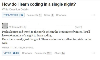 Coding in a single night…