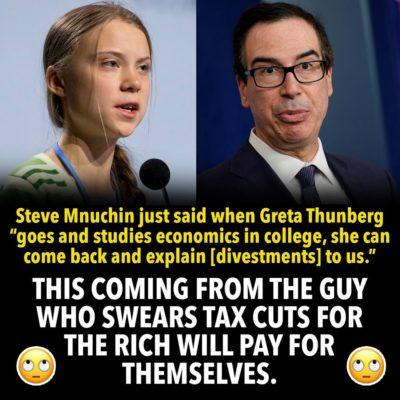 devout believer in trickle down