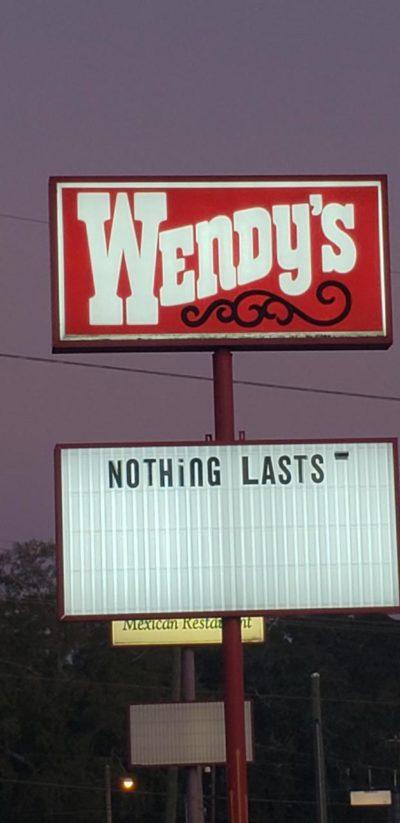 Who hurt you, Wendy?