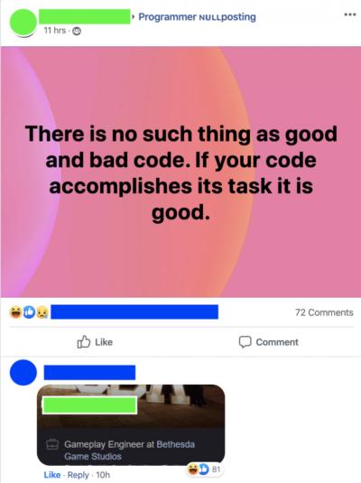 Return Good AND Bad