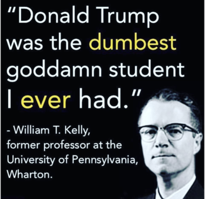 "But Trump claims he was ""number 1"" in his class"