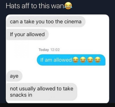 Hats off to this wan😂