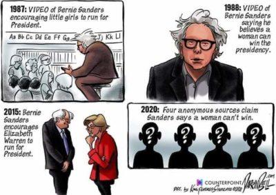 "Bernie's ""Accusation"""