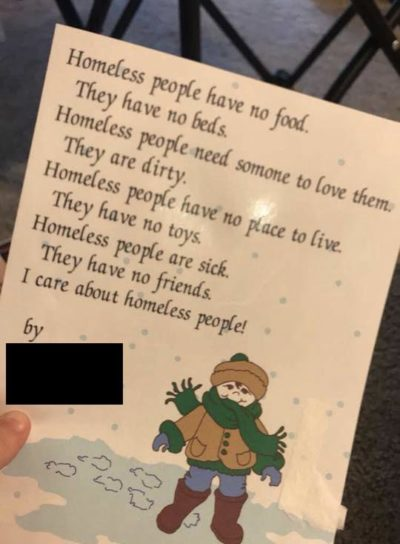 Not sure if this belongs here but I found a poem that I wrote when I was a kid. A bit harsh I'd say..