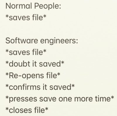 software engineer checker 😂😂😂