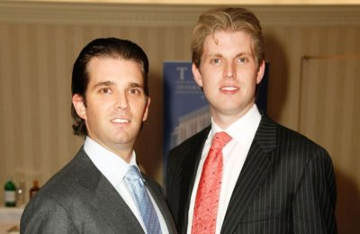 Breaking: Donald Trump Jr. and Eric Trump have both been diagnosed with Bone Spurs.