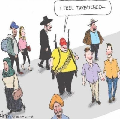 A good ol' political cartoon!