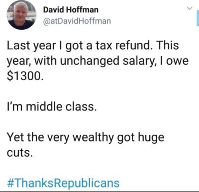 Thanks Republicans!