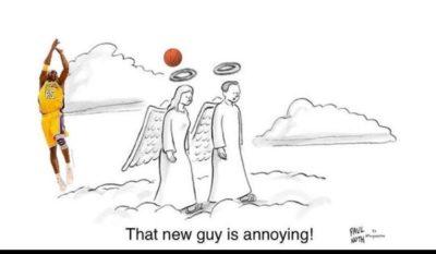 Heavenly B-ball