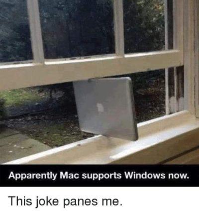 This joke panes me.