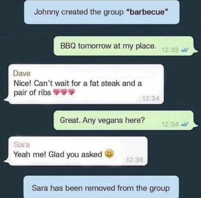 Vegan bad