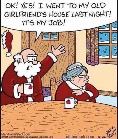 Wife hate Santa