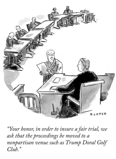 A New Yorker cartoon you will actually get..or not. Depends on what side of the aisle your on I suppose.