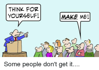 There is always one…