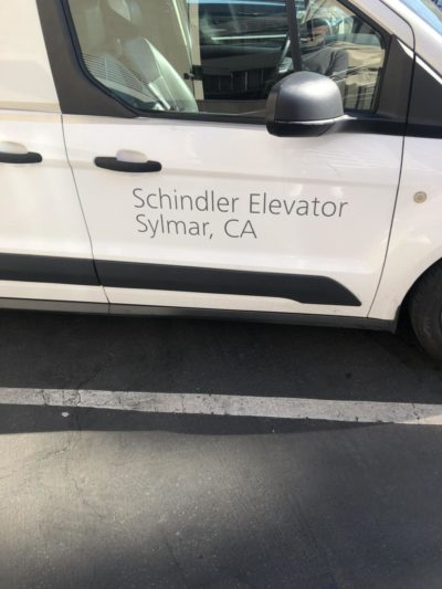 Sooo…Schindler's Lifts?