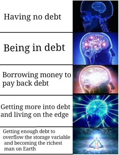 Debt be gone