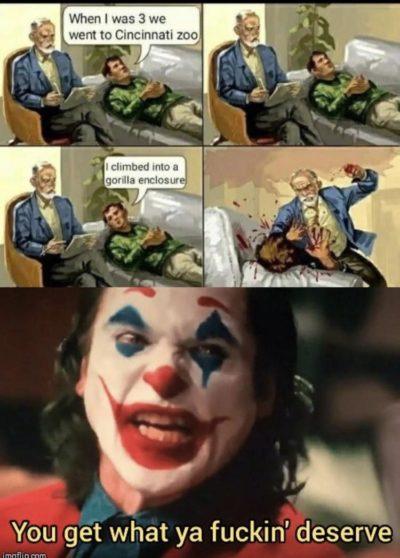 Joker on meme=funny