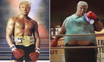 "My answer to the artist who created ""Rocky/Trump"""