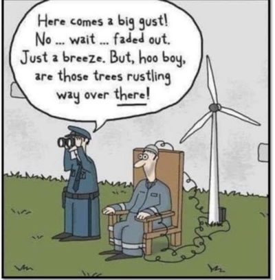 Hahahaha green electricity bad