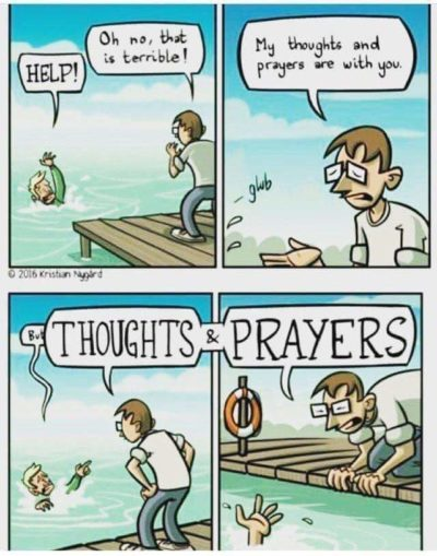 Thoughts and Prayers