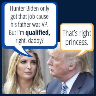 The princess of nepotism is so accomplished 👸👸👸