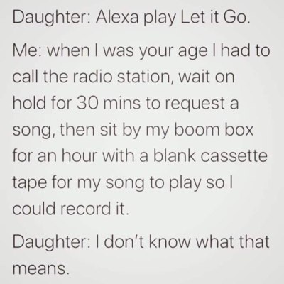 Alexa bad, absurdly long times good