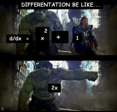 There is no constant in differentiation