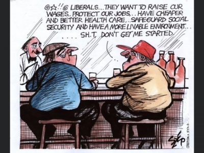 Those damn liberals!