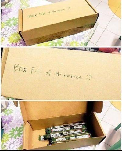 Ahhh, the memories