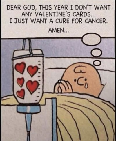DID THEY JUST GIVE CHARLIE BROWN CANCER?!?